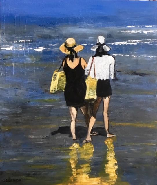 Dames op het strand | Atelier45