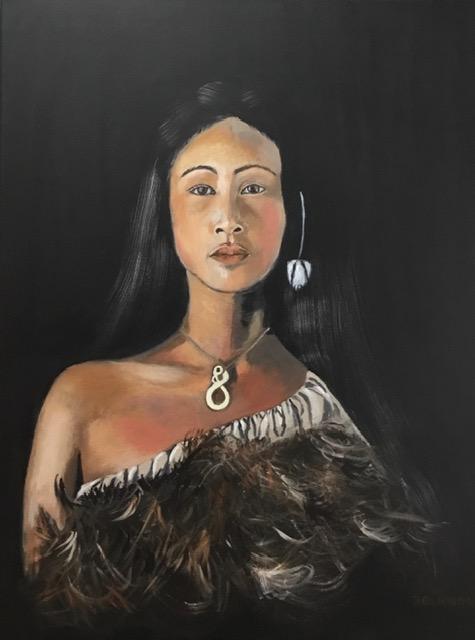 Maori vrouw | Atelier 45