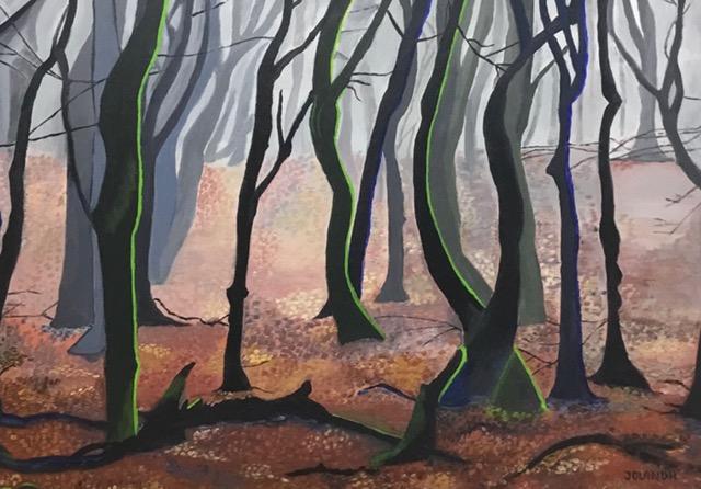 Misty autumn forest | Atelier45